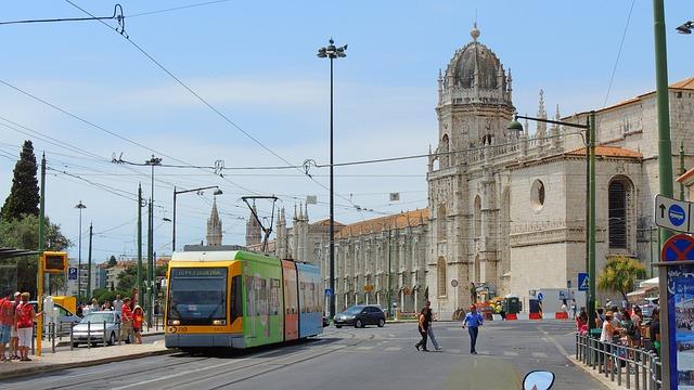 Lisboa, Tram, Portugal, City, Lisbon, Europe, Street