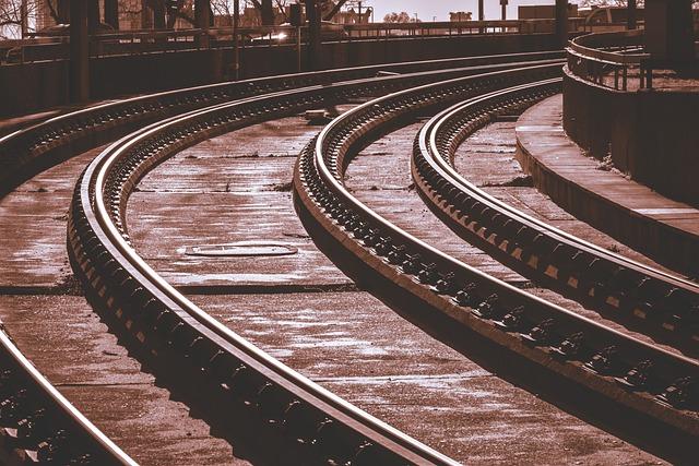 Rails, Gleise, Tram, Metro, Railroad Tracks