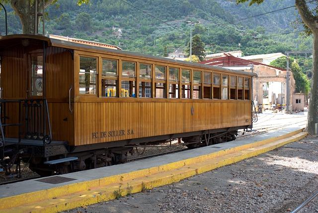 Wagon, Train, Tram, Rails, Old, Railway Station