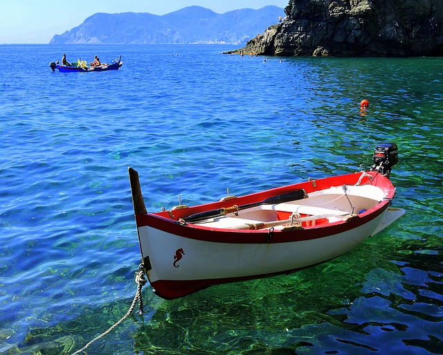 Boat, Water, Sea, Tranquility