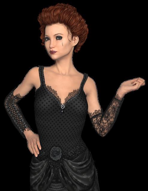 Woman, Pose, Portrait, Transparent Background, Tube