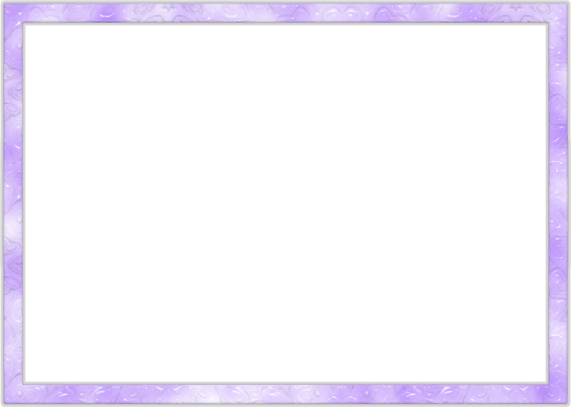 Photo Frame, Purple, Transparent Background