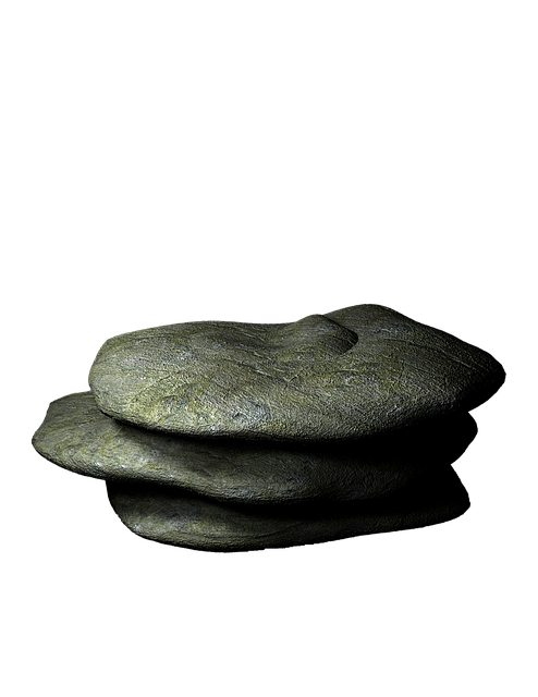 Rock, Prop, Transparent Background, Stone, Granite
