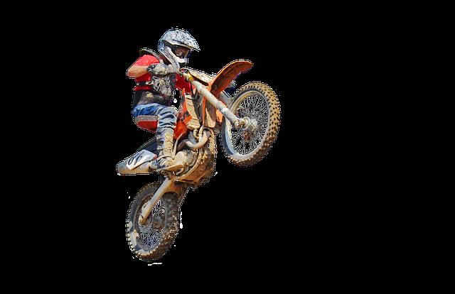 Motocross, Dirt Bike, Jump, Transparent, Motorcycle
