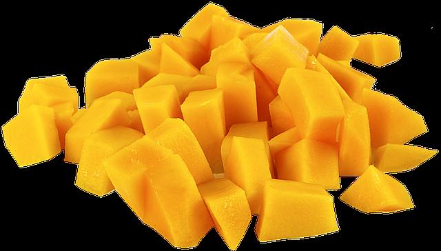 Fruit, Mango, Parts, Png, Yellow, Cutout, Transparent