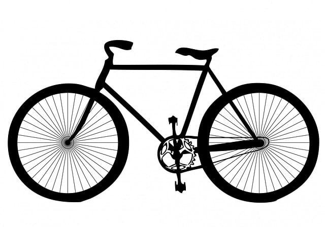 Black, Shape, Transport, Bicycle, Bike, Cycle, Activity