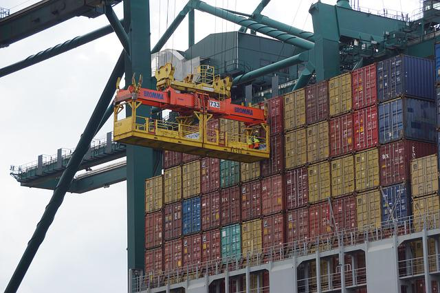 Containers, Ship, Port, Transport, Load, Container Ship