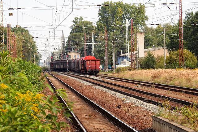 Freight Train, Gleise, Train, Seemed, Transport