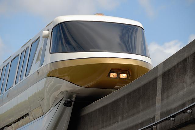Monorail, Tram, Transport, Railway, Vehicle, Train