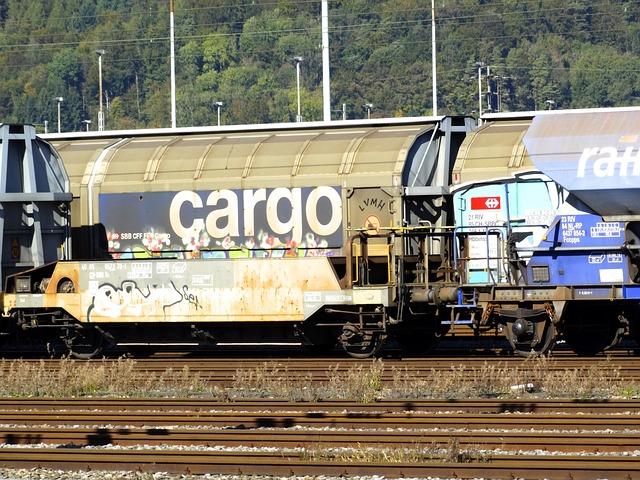 Transport Of Goods, Cargo, Goods Wagons