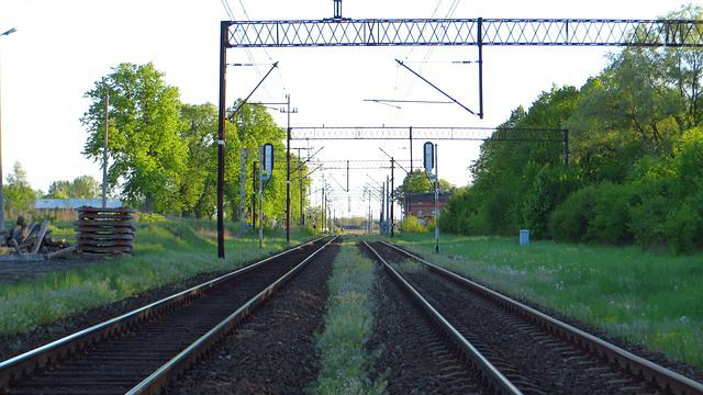Railroad, Railway, Rails, Transport