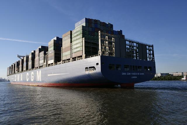 Shipping, Seafaring, Container Ships, Transport