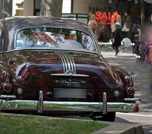 Auto, Pontiac, Oldtimer, Chrome, Transport System