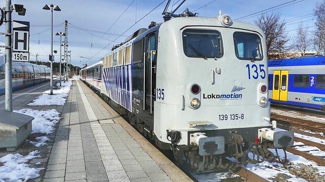 Train, Railway, Transport System