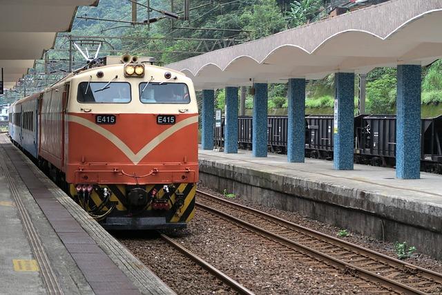 Railway Train, Train, Railway, Transport System