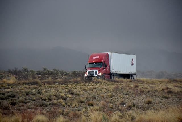 Transportation, Driving, Freeway, Trucking, Transport