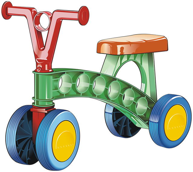 Tricycle, Vehicle, Transport, Toy, Child, Drawing