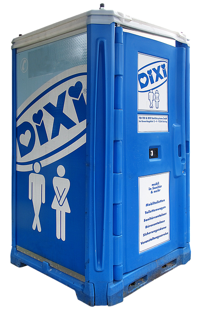 Dixi, Loo, Toilet Cabin, Mobile Toilet, Transportable