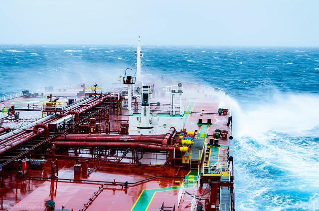 Ocean, Ocean Waves, Water, Sea, Vessel, Transportation