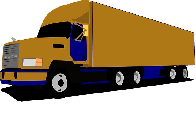 Truck, 18-wheeler, Freight, Shipping, Transportation