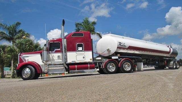Kenworth, Truck, Tanker, Transportation System, Vehicle