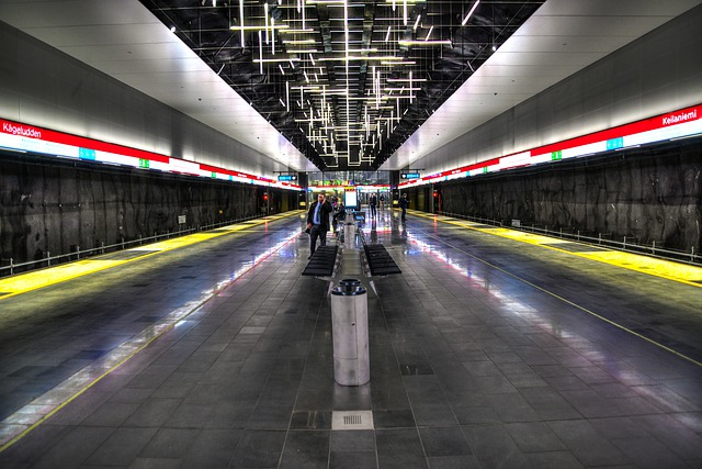 Metro, Subway, Helsinki, Transportation System, Traffic