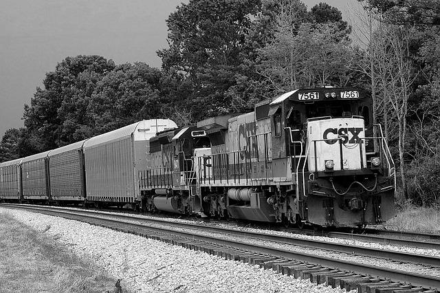 Train, Diesel, Transportation, Business, Freight