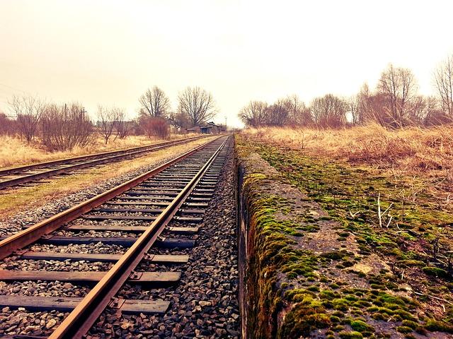 Rail, Railway, Train Tracks, Transportation, Tracks