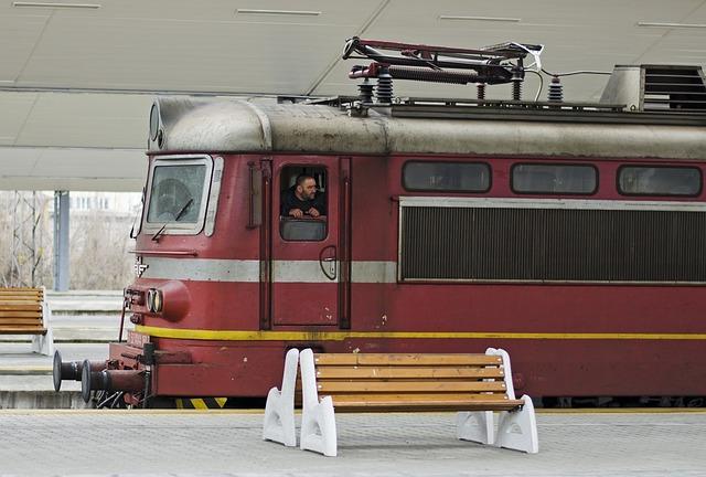 Train, Engineer, Bulgaria, Transportation, Transport