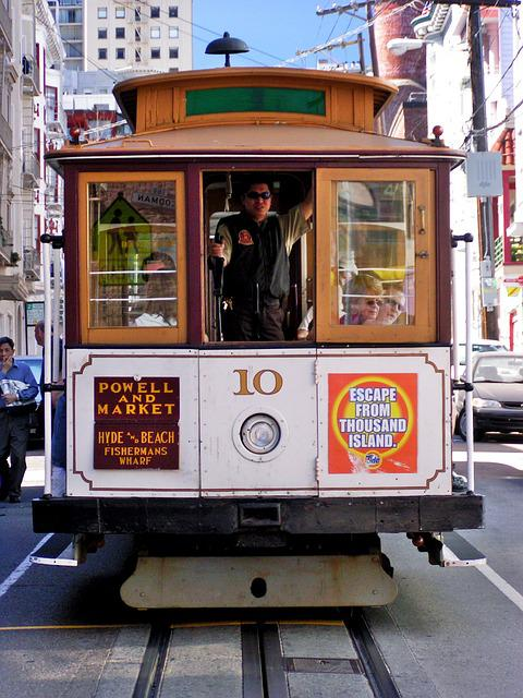 Cable Car, Trolley Car, Transports, Car, Cable, Trolley