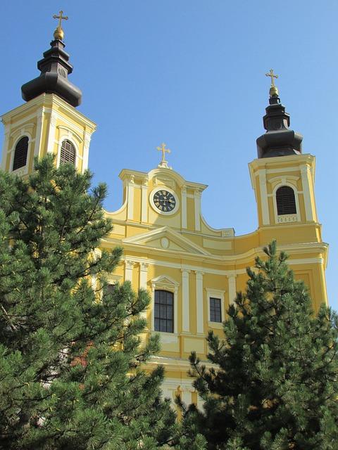 Basilica, Roman Catholic, Oradea, Crisana, Transylvania