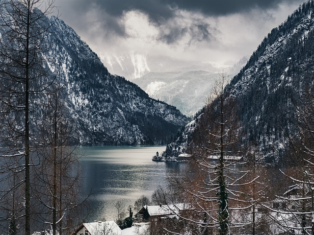 Traunsee, Mountain, Lake, Landscape, Water, Alpine