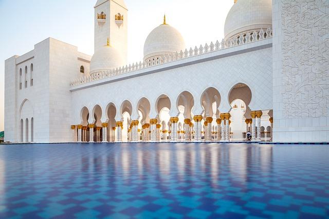 Moshe, White Mosque, Abu Dhabi, Arabic, Uae, Travel