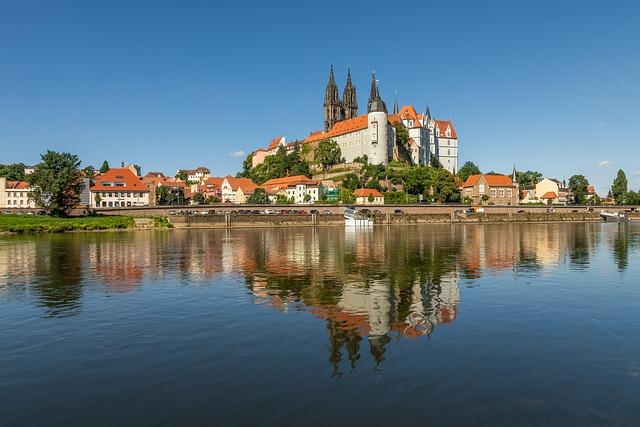 Architecture, City, Travel, Albrechtsburg Castle