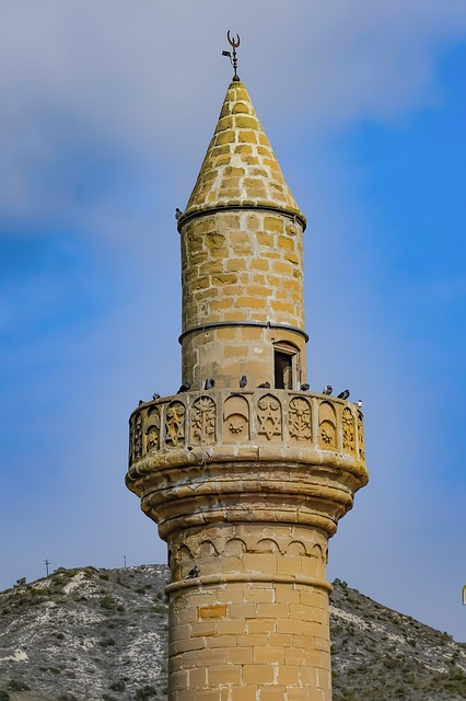 Mosque, Minaret, Architecture, Old, Tower, Travel, Sky