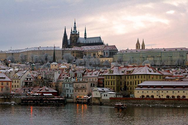 River, City, Travel, Architecture, Panoramic
