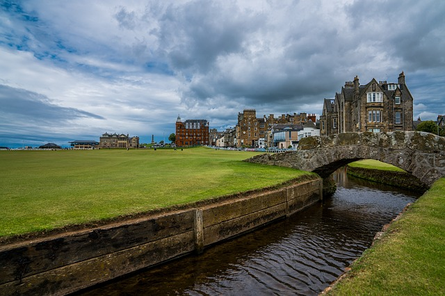St Andrews, Architecture, Travel, Outdoors, Sky