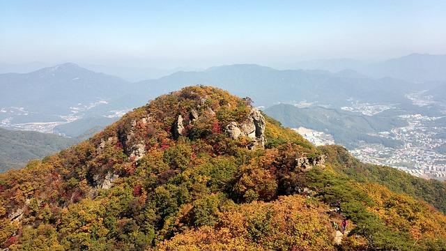 Cheonmasan, Climbing, Autumn, Travel