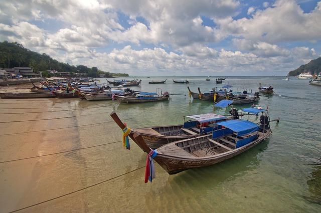 Boat, Beach, Sky, Travel, Sea, Ship, Water, Ocean