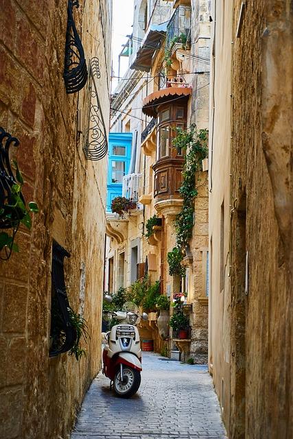 Road, Travel, City, Architecture, Mediterranean, Alley