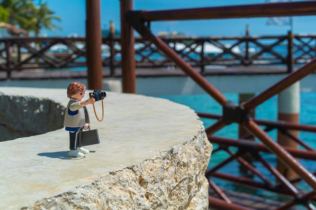 Playmobil, Travel, Details, Shooting, Camera, Sea