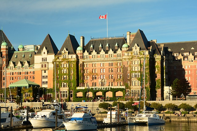 Empress Hotel, Victoria, Inner Harbor, Travel, British