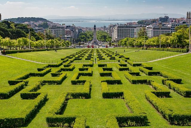 Lisbon, Portugal, Europe, Travel, Landmark, Skyline