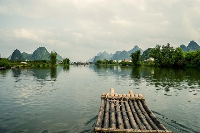 China, Guilin, Travel, Asia, Chinese, Guangxi, River