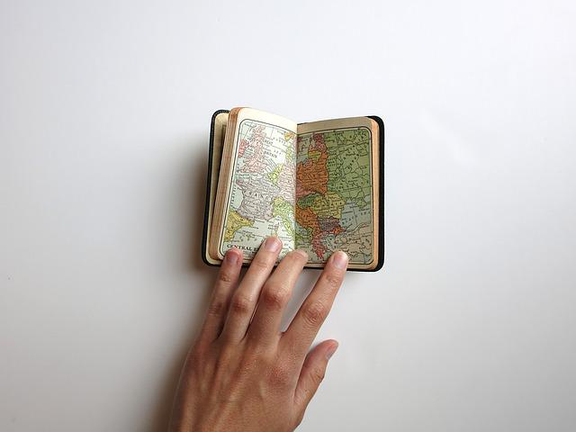 Word, Map, Hand, Travel