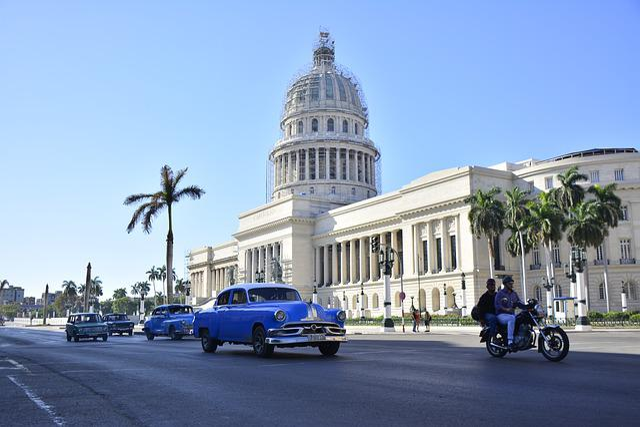 Cuba, Havana, Caribbean, Old, Habana, Building, Travel
