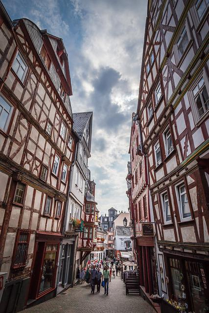 Limburg, Old Town, Frame House, Travel, Historic Center