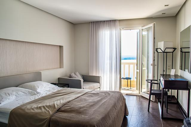 Travel, Hotel Rooms, Hotel, Room, Bed, Interior