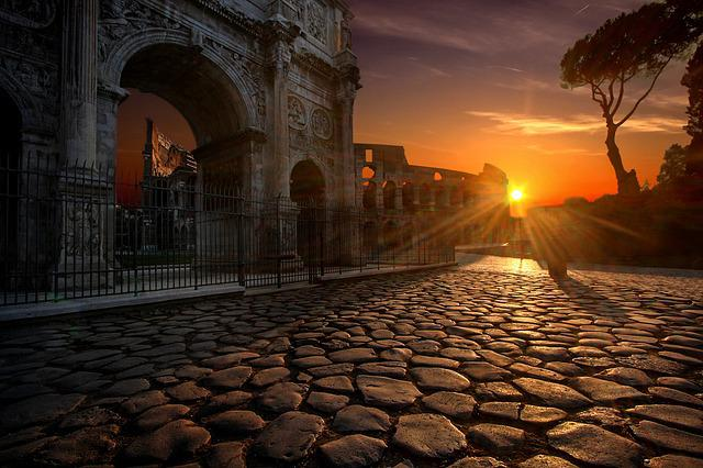 Arch Of Constantine, Colosseum, Rome, Italy, Travel