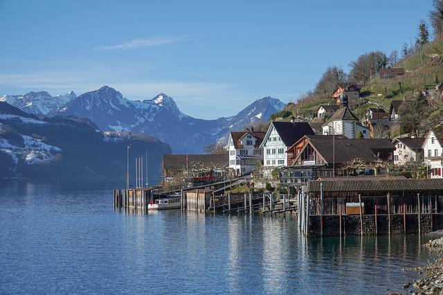 Walensee, Water, Lake, Travel, Outdoors, Reflection